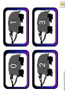 Badger Number Chart 0-30