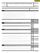 Form N-348 - Capital Infrastructure Tax Credit - 2015