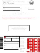 Form Wv/cst220 - West Virginia Use Tax Return