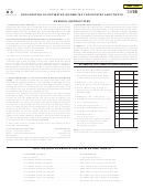 Form N-5 - Declaration Of Estimated Income Tax For Estates And Trusts And Vouchers