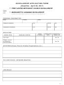 Form Ce08 - Scholarship Application Form
