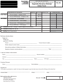 Form Tc-79 - Cigarette Revenue Stamps Order Form
