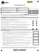 Form Ecc - Elderly Care Credit - 2013
