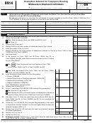Form 8914 - Exemption Amount For Taxpayers Housing Midwestern Displaced Individuals - 2009