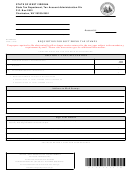 Form Wv/sdr - Requisition For Soft Drink Tax Stamps - 2008