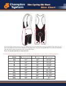 Size Chart Size Chart - Aero Tri Club