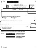 Form Sc8736 - Request For Extension Of Time To File South Carolina Return For Fiduciary And Partnership