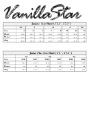 Juniors Jeans Size Chart