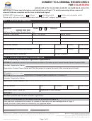 Form Crr026 - Consent To A Criminal Record Check For Volunteers - British Columbia