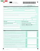 Form D-41 - Columbia Fiduciary Income Tax Return - 2015