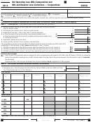 Form 3805q - Net Operating Loss (nol) Computation And Nol And Disaster Loss Limitations Corporations - 2014