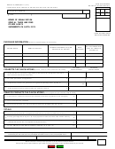 Form Boe-501-ci - Cigarette And Tobacco Products Excise Tax Return