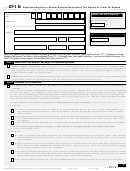 Form Ct-1 X - Adjusted Employer's Annual Railroad Retirement Tax Return Or Claim For Refund