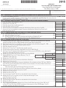 Form 4972-k (state Form 42a740-s21) - Kentucky Tax On Lump-sum Distributions - 2015