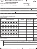 Form 541-t - California Allocation Of Estimated Tax Payments To Beneficiaries - 2014