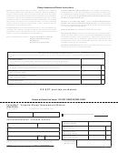 Form Sh-1 - Virginia Sheep Assessment Return