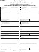 Form R-5p - Nonresident Real Property Owner Shareholder/partner Schedule