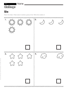 Six - Math Worksheet With Answers