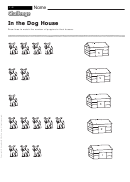 In The Dog House - Math Worksheet With Answers