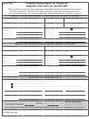 Form Va-1 - Request For Copy Of Tax Return