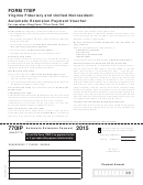 Form 770ip - Virginia Fiduciary And Unified Nonresident Automatic Extension Payment Voucher