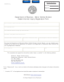 Form Mv-47 - Motor Vehicle Division Dealer Internet Inquiry Registration Form