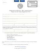 Form Mv-47 - Motor Vehicle Division Dealer Internet Inquiry Registration Form