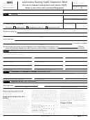 Form 8693 - Low-income Housing Credit Disposition Bond