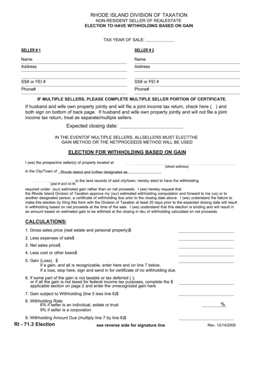 fillable form ri  election   withholding 530 x 749 · png