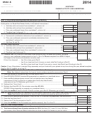 Form 8582-k - Kentucky Passive Activity Loss Limitations - 2014