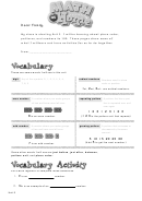 Teacher's Letter - Starting Unit 2 - Place Value