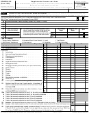 Schedule E (form 1040) - Supplemental Income And Loss - 2014