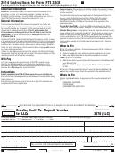 Form 3578 (llc) - California Pending Audit Tax Deposit Voucher For Llcs