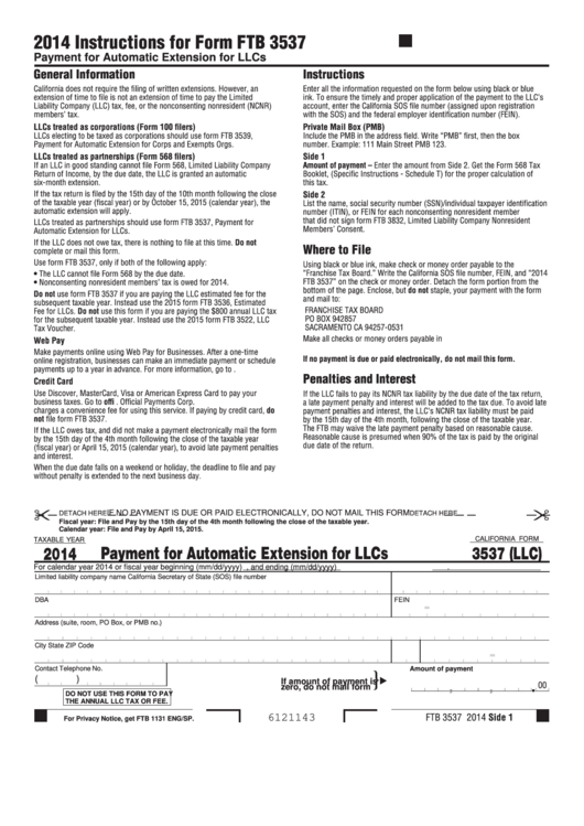 Top 9 California Ftb Form 3537 Templates Free To Download In Pdf Format