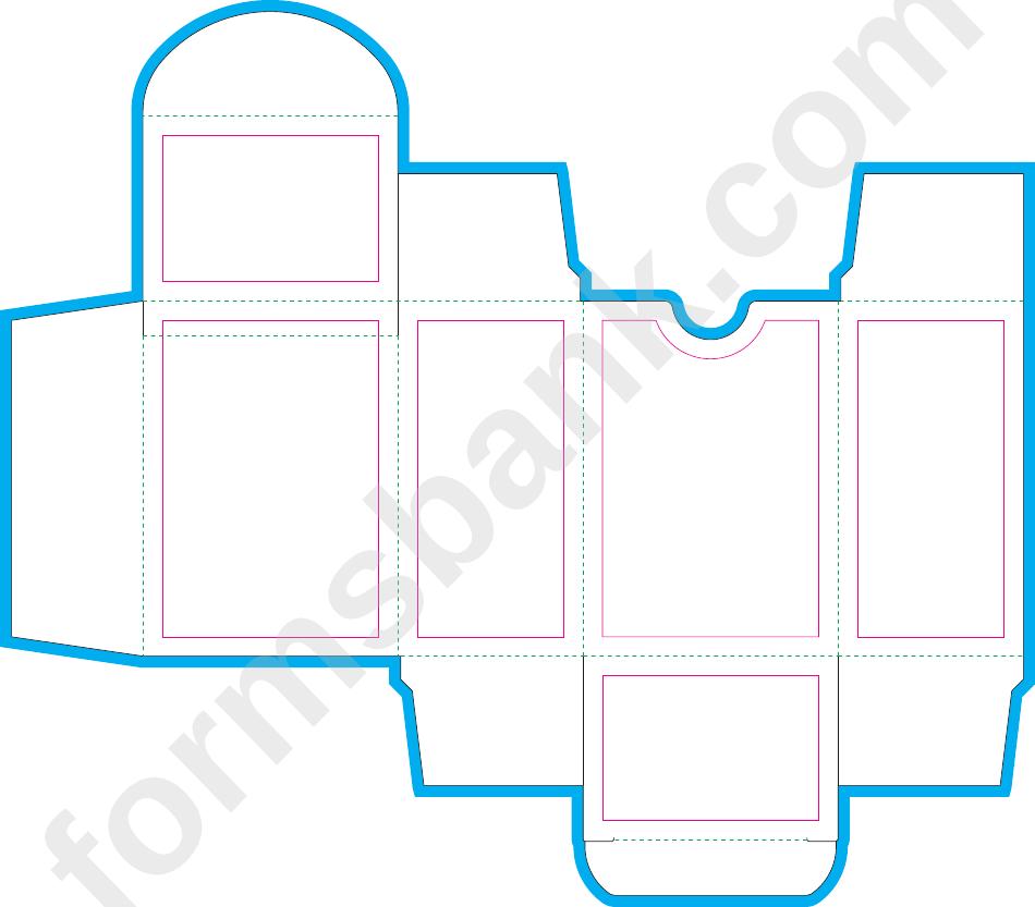 Poker 100 Card Box Template Printable Pdf Download