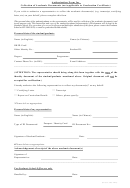 Authorization Form For Collection Of Academic Documents (not Applicable To Graduation Certificate)