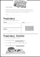 Family Letter - Starting Unit 8