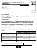 Form Boe-501-ir - California Oil Spill Response Fee Annual Information Return