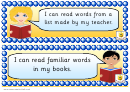I Can Reading Classroom Poster Template