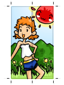 Summer Bookmark - Sun