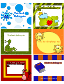 Bright Bookplates Assorted