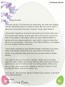 Easter Bunny Letter For A Child With Siblings