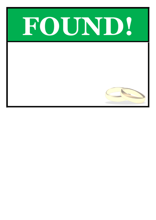 Found Jewelry Poster Template Printable pdf
