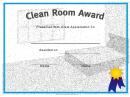 Clean Room Certificate