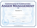 Candid image pertaining to printable anger management certificate