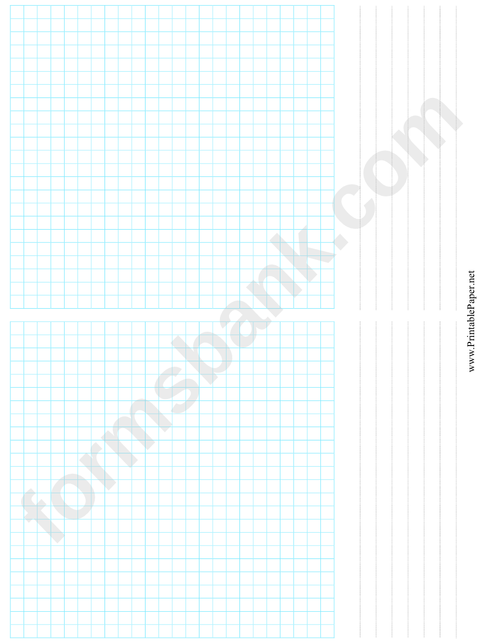 2-Up Grid Paper Template