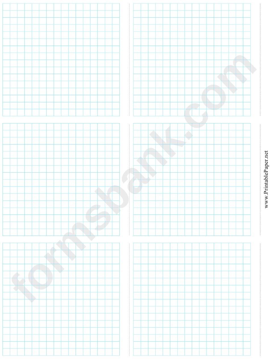 6-Up Grid Paper Template