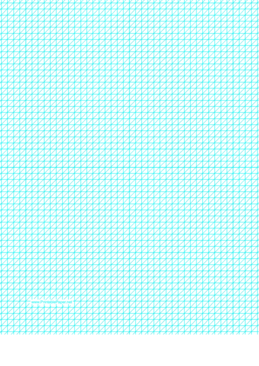 Diagonals (Left) With Fifth-Inch Grid Printable pdf