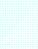Diagonals (left) With Half-inch Grid