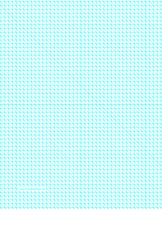 Diagonals (Right) With Fifth-Inch Grid Printable pdf